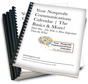 Your Nonprofit Communications Calendar The Basics More Pamela - Nonprofit communications calendar template