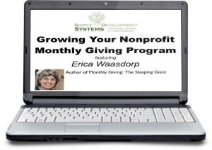 Growing Your Nonprofit Monthly Giving Program