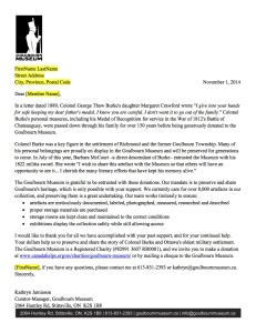 AnnualAppealLetter2014 Goulbourn Museum (1)