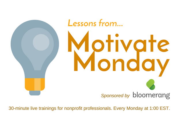 Lessons from MotivateMonday | What does transformation look like for your nonprofit?